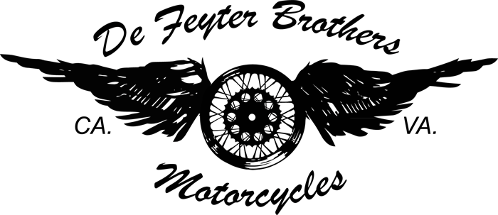 De Feyter Brothers Motorcycles Virginia to California